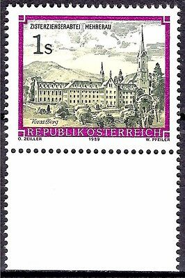 Austria 1989  Bregenz Monasteries Abbey Tower Building Architecture View 1v MNH