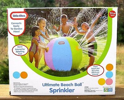 Little Tikes Outdoor Kid Water Toy Inflatable Giant Beach Ball Sprinkler GIFT