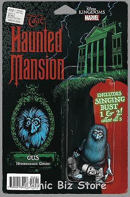 Haunted Mansion #2 (Of 5) (2016) 1St Printing Action Figure Variant Cover