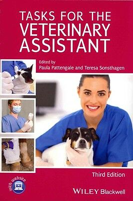 Tasks for the Veterinary Assistant by Pattengale Paperback Book (English)