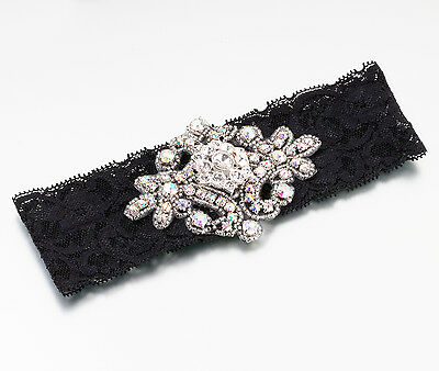 Lillian Rose-Wedding Bridal Jeweled Lace Garters! 3 Colors