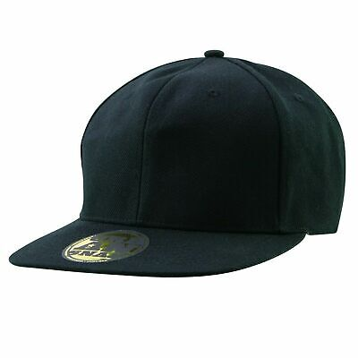 Urban Snapback Cap Plain Flat Brim Hat One Size | FREESTYLE