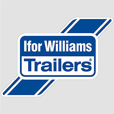 Ifor Williams Trailers Logo Sticker decal vinyl print self-adhesive A3 (42x30cm)
