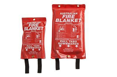 Item 4 Fire Blanket AS 3504 Sizes 1.0x1.0, 1.2x1.2, 1.2x1.8 and 1.8x1.8
