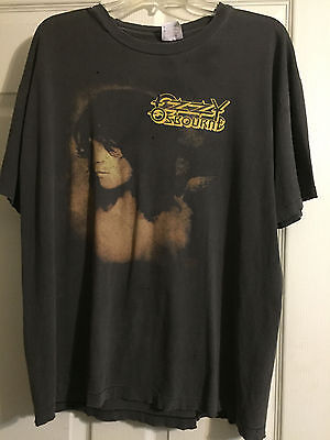 Ozzy Osbourne Vintage Concert T Shirt No More Tours, Tour 1992