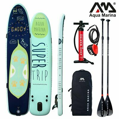 AQUA MARINA Mega Sup Super Trip Stand Up Paddle Surfboard Modell 2018 Board