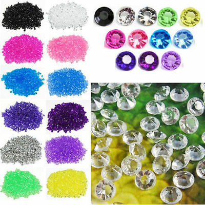 2000 4.5mm Wedding Decoration Scatter Table Crystals Diamonds Acrylic