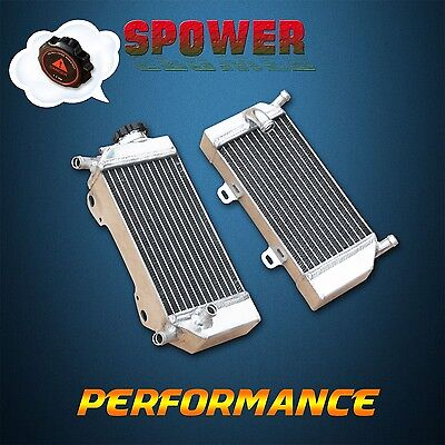 Aluminum radiator for Honda CRF250 CRF250R CRF250X 2004 2005 2006 2007 2008 2009