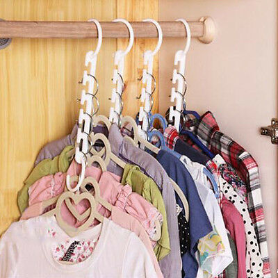 Space Saver Magic Hanger Wonder Clothes Rack Clothing Hook Organizer