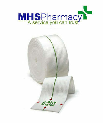 Tubifast 2-Way Stretch Green Bandage 5cm x 5m