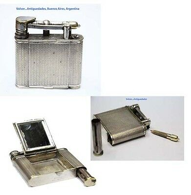 Rare DUNHILL lighter shape compact + perfume bottle + pencil