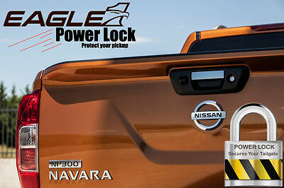 Nissan Navara NP300 Tailgate Lock Eagle1 Central Locking Power Lock Kit 16