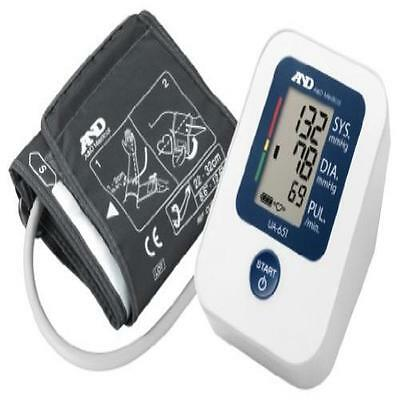 A&D Ua-651 Value Upper Arm Blood Pressure Monitor Clinically Validated User Fri