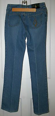 Vintage Baby Phat Women's Denim Blue Jeans Size 7 Boot Cut / Bell Bottom