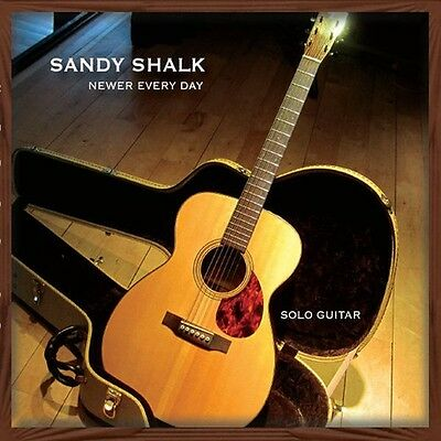 Sandy Shalk - Newer Every Day [New CD]