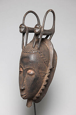Yaure Costume Mask, Côte d'Ivoire , African Tribal Arts, Tribal Masks