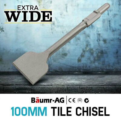 NEW Baumr-AG Jackhammer Chisel Tile Chipper Extra Wide Jack Hammer Chipping Tool