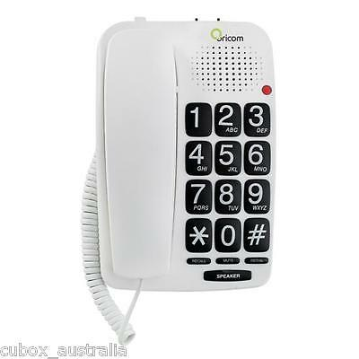Oricom Big Button Speakerphone TP58 for home or commercial phone use