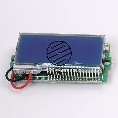 LCD 3A 30V DC Voltage Ammeter Thermometer Independent Power Supply