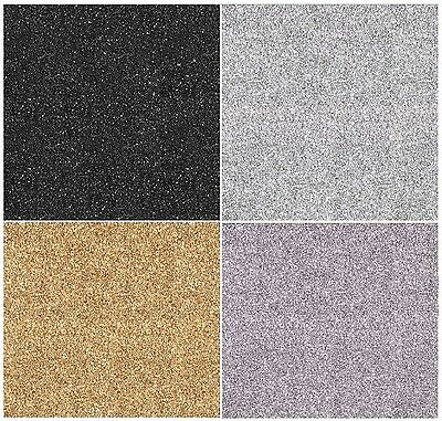 Muriva Sparkle Wallpaper - Glitter Effect Feature - Silver | Black | Gold | Mink