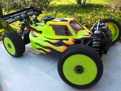 1/8 Scale RC Car Buggy Body Shell EVO DP (MBX, XRAY & LOSI) OFF34