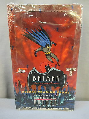"Batman Series 2 ""MASK OF PHANTASM"" Animated *NEW* Deluxe Trading Cards 1993"