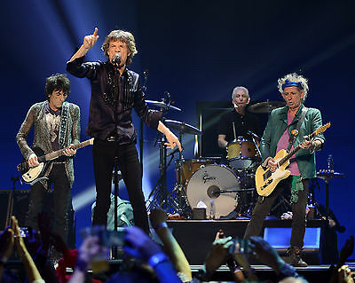 Rolling Stones in Concert, 8x10 Color Photo