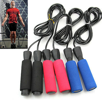 Aerobic Exercise Boxing Skipping Jump Rope Adjustable Bearing Speed Fitness