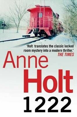 1222 by Anne Holt Paperback Book (English)
