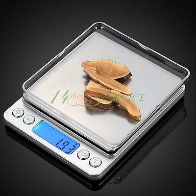 Mini 0.01-500G Digital Pocket Scales Jewelry Electronic Balance Weighing Grams