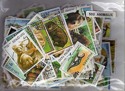 ANIMAUX 500 timbres différents
