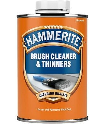 Hammerite Brush Cleaner And Thinners 250ML / 1L / 2.5L All Sizes Stocked