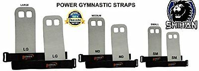 Power Sports Gymnastics GY-10 Hand Protection Straps  Bar Grips Velcro Straps