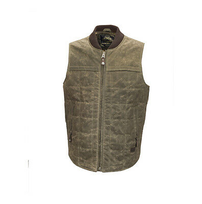 Roland Sands Design RSD Ringo Ranger Motorcycle Waxed Cotton Vest | All Sizes