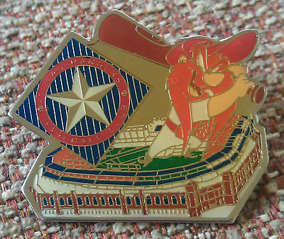 Texas Rangers Stadium Yosemite Sam Lapel Pin