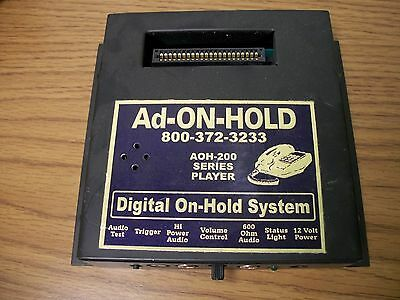 AOH-200 Series Complete Message/Music on Hold System Ad-On-Hold (AD-200-2)