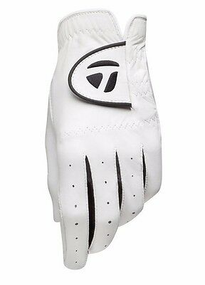 New TaylorMade Targa Cabretta Leather Lycra Golf Glove