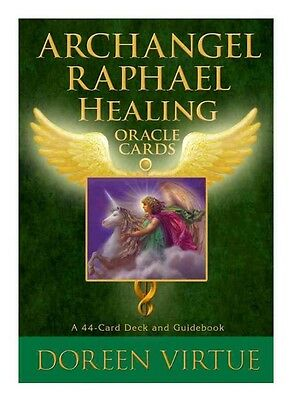 Archangel Raphael Healing Oracle Cards: A 44-Card Deck and Guidebook by Doreen V