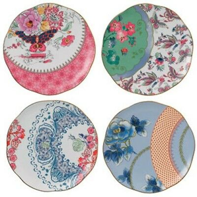 Wedgwood - Salad Plates - Butterfly Bloom  - Set of 4