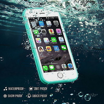 Waterproof Shockproof Hybrid Rubber TPU Phone Case Cover For iPhone Models