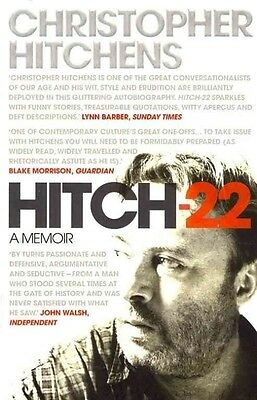 Hitch 22 by Christopher Hitchens Paperback Book (English)