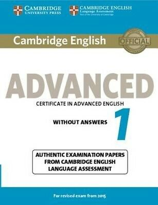 Cambridge English Advanced 1 for Revised Exam from 2015 Student's Book without A