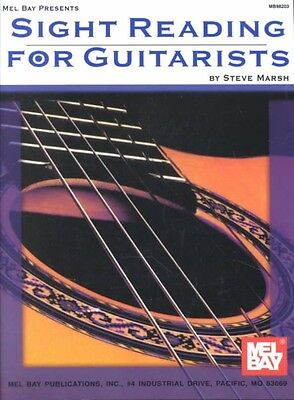 Sight Reading for Guitarists by Steve Marsh Paperback Book (English)