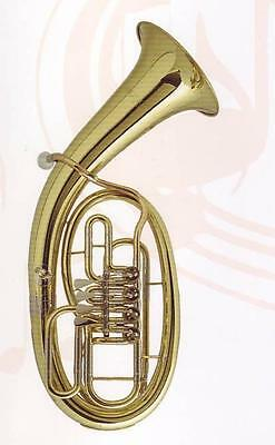 Musica (Cerveny) B-Tenorhorn, Bohrung 13,20mm, Messing - ohne Etui -