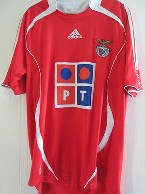 Benfica 2006-2007 Home  Football Shirt Size Large Mans /38072