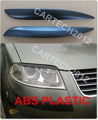 VW Passat B5 FL 3BG 2000-2005 Eyebrows, ABS PLASTIC, tuning