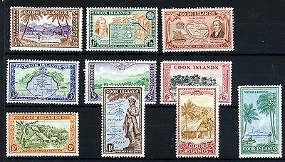 COOK ISLANDS 1949-61 The Full Pictorial Set SG 150 to SG 159 MINT