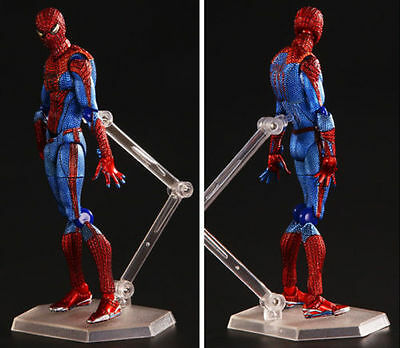 Hot Spiderman Marvel Figure  Figma Legends Series Amazing toy Gift Box ZZX001