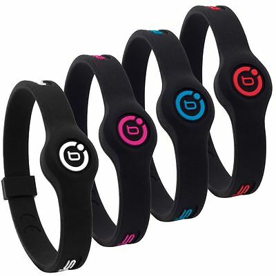 Bioflow Slim Line Sport Magnetic Therapy Silicone Wristband Bracelet