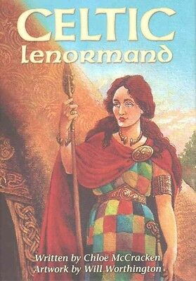 Celtic Lenormand by Chlo McCracken Hardcover Book (English)